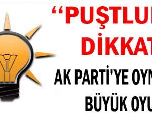 AK Parti'ye Oynanan Büyük Oyun