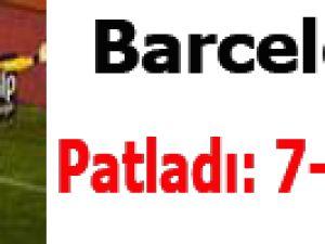 Barcelona Vallecano'ya Patladı: 7-0 Video