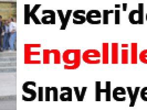 Kayseri'de Engellilerin Sınav Heyecanı