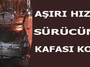 İzmir'de Kazada Kafası Koptu