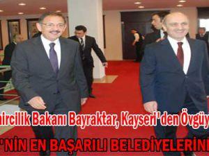 """""""TÜRKİYE'NİN EN BAŞARILI BELEDİYELERİNDEN BİRİ"""""""