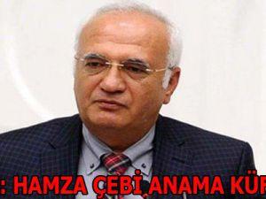 Elitaş: Hamzaçebi Anama Küfretti!