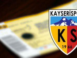 Kayserispor-Gençlerbirliği Maç Biletleri Satışa Çıktı