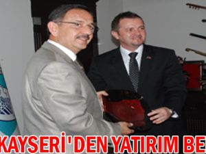 CAZİN KAYSERİ'DEN YATIRIM BEKLİYOR