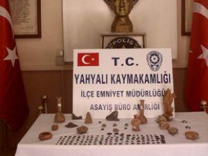 KAYSERİ'DE MÜZE GİBİ EVE BASKIN