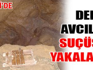 KAYSERİ'DE DEFİNE AVCILARI JANDARMAYA YAKALANDI