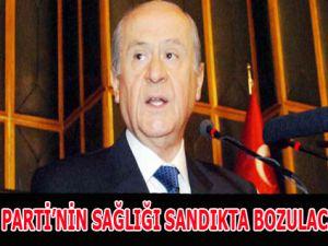 """AK Parti'nin Sağlığı Sandıkta Bozulacak"""""""""""