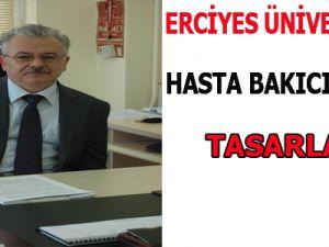 ERCİYES ÜNİVERSİTESİ HASTA BAKICI ROBOT TASARLADI