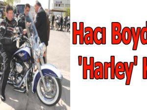 Hacı Boydak'ın 'Harley' Keyfi