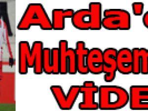 Arda'dan Muhteşem 2 gol / VİDEO