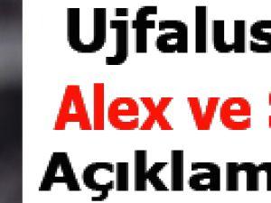 Ujfalusi Alex ve Sow için ne dedi?