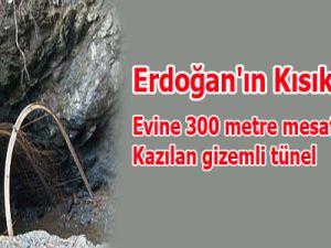 Erdoğan'ın Geçiş Yolundaki Esrarengiz Tünel!