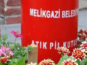 MELİKGAZİ BELEDİYESİ'NDE PİL TOPLAMA KAMPANYASI SÜRÜYOR