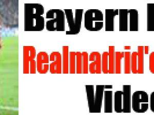 Bayern Münih Realmadrid'e Acımadı Video