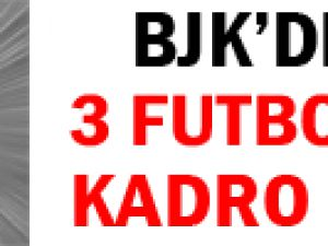 Beşiktaş'ta 3 Futbolcu Kadro Dışı Bırakıldı