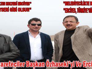 Ankaralı Gazeteciler Başkan Özhaseki'yi Ve Erciyes'i Övdü