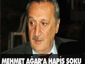 Mehmet Ağar'a hapis şoku