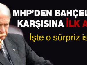 MHP'de Devlet Bahçeli'nin karşısına ilk aday