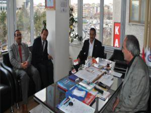 Meteoroloji 7. Bölge Müdürü Özkır'dan Eğitim-Bir-Sen'e Ziyaret