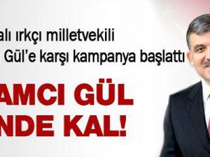 Irkçı Milletvekil Geert Wilders Abdullah Gül'e Karşı Kampanya Başlattı