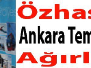 Özhaseki  Ankara Temsilcilerini Ağırladı