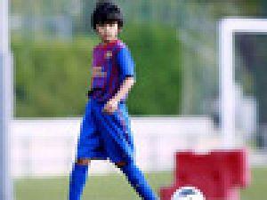 Minik Japon Messi'nin tahtına göz koydu Video