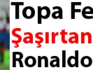 Topa Feleğini Şaşırtan Adam! Ronaldo Video