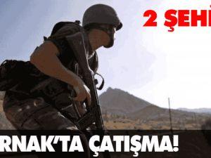 Şırnak'ta Çatışma 2 Asker Şehit