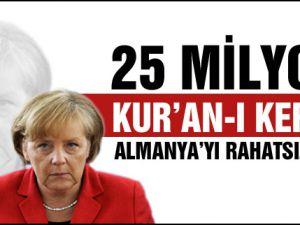 25 milyon Kur'an Almanya'yı ayağa kaldırdı