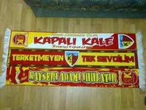 KAYSERİSPOR TARAFTARI ANKARADA TAKIMINI DESTEKLİYOR