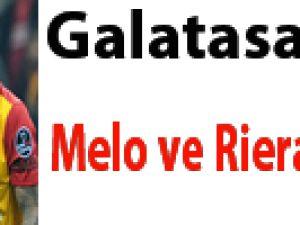 Galatasaray'da Melo ve Riera affedildi