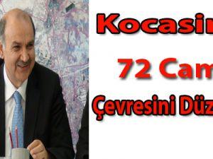 Kocasinan 72 Cami Çevresini Düzenledi