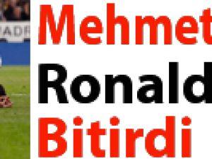 Mehmet Topal Ronaldo'yu bitirdi!