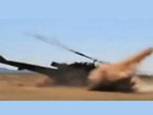 Arizona'da helikopter yere çakıldı! VİDEO