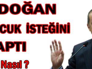 Erdoğan 3 İsteğini 5 Yaptı