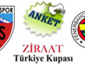 Türkiye Kupası Kayserispor - Fenerbahçe / Anket