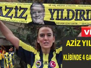Aziz Yıldırım klibinde 4 Galatasaraylı video