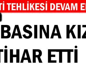KAYSERİ'DE BABASINA KIZDI İNTİHARA KALKIŞTI