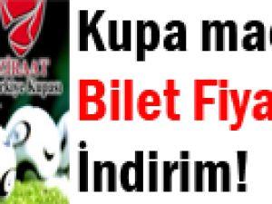 Kayserispor Fenerbahçe Kupa Maçının Bilet Fiyatlarında Değişiklik