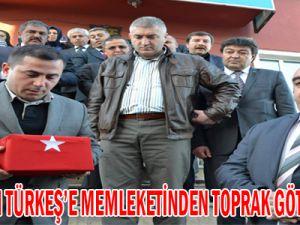 ALPARSLAN TÜRKEŞ'E MEMLEKETİNDEN TOPRAK GÖTÜRÜLECEK