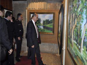 POLİS MEMURLARININ SERGİSİNE BÜYÜK İLGİ