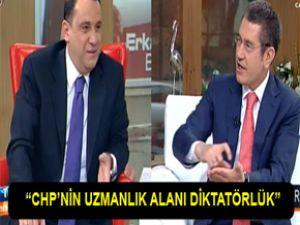 """""""CHP'nin uzmanlık alanı diktatörlük"""""""
