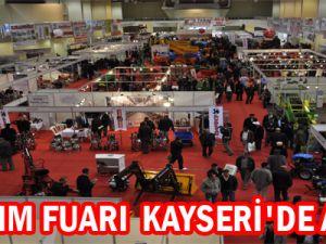 7. TARIM FUARI  KAYSERİ'DE AÇILDI