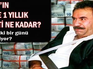 Öcalan'ın Devlete Bir Yıllık Maliyeti