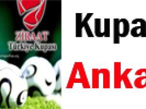 Kupa Maçı Ankara'da