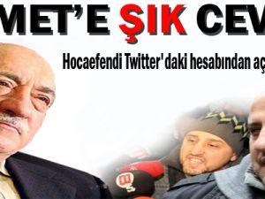 Gülen'den Ahmet'e Şık Cevap!