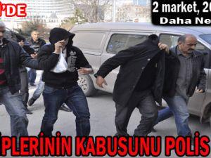 KAYSERİ'DE EV SAHİPLERİNİN KABUSUNU POLİS BİTİRDİ