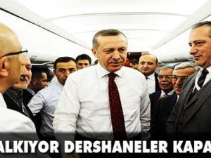 Erdoğan: YGS ve dershaneyi kaldırıyoruz