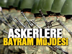 ASKERLERE BAYRAM MÜJDESİ ASKERLİK İNECEK