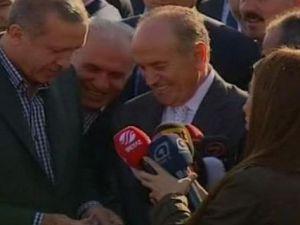Başbakan Erdoğan'dan muhabire bayram harçlığı!